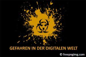 Titelbild - Präsentation Gefahren im Netz